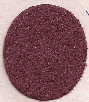 "Dollhouse Miniature - **Discontinued** - FF5974 - Carpet: Burgundy - 13"" x 18"""