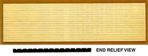 CLA70239 - Wainscoting -  4 Pack