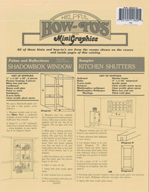 MG116 - Pamphlet - How To's from Mini Graphics Wallpapers