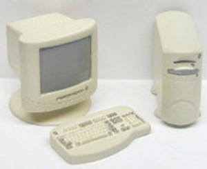 Dollhouse Miniature - RA0158 - 4 PC COMPUTER SET