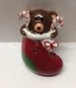 3724 - Stocking Shape Christmas Ornament