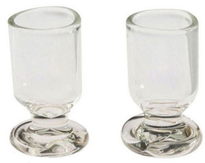 IM65185 - GLASS GOBLETS, 2/PK