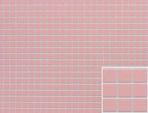 Dollhouse Miniature - FF60630 - Tile:Square - PINK