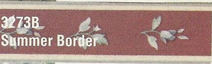 MG3273B - WP Border - Burgundy Floral