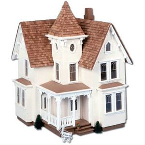 "Dollhouse Kit - 1:24 (1/2"" Scale) - Corona/Greenleaf - DH8015 - Fairfield -  1/2"" Scale -  Front"