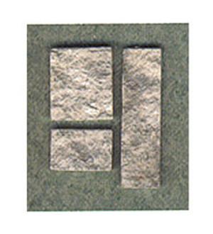 AAM0725 - Fieldstone Veneer - Gray 72 Sq Inches