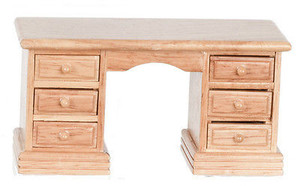 **DISCONTINUED** - T4277 - Desk - Oak
