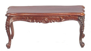 P6028 - Rococo Coffee Table - Walnut