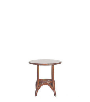 P6636 - Thonet Bentwood Table - Circa 1859 - Walnut