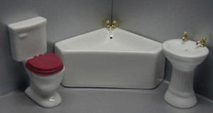 TLF119 - Modern 3 pc corner bathroom