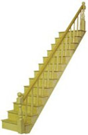 """HW H7000 - 1/2"""" Scale Staircase Kit"""