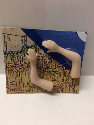 Dollhouse Miniature – TINY ARMS - Porcelain Doll Kit Hand & Arms Only