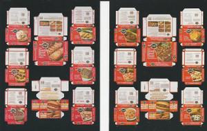 Dollhouse Miniature -FA80153 - Stouffer Frozen Food Box Kits - 16 Box Kits