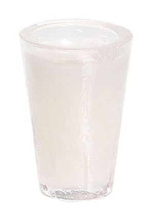 Dollhouse Miniature - FA60001 - Glass of Milk - Pkg/2