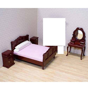 Dollhouse Miniature - MD2583 - Melissa & Doug - Bedroom Set/5