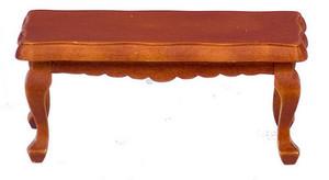 D6840 - VICTORIAN COFFEE TABLE - WALNUT