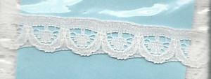 4190018 - Lace: White - Narrow