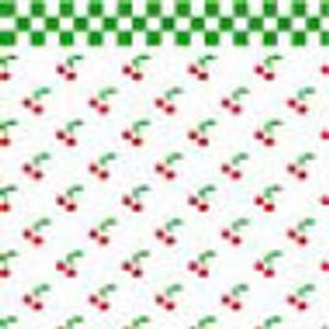 """BPHKT101 - 1/2"""" Scale Wallpaper - Cherries"""