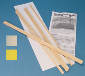 Dollhouse Miniature - HW13420 - Kitchen Cabinet Kit - White Countertop