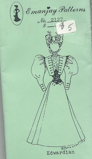 2127 - Edwardian Dress- Emanjay Sewing Pattern