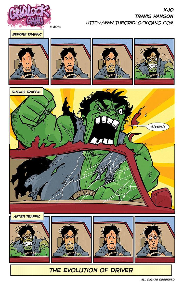 Hulk Smash Traffic