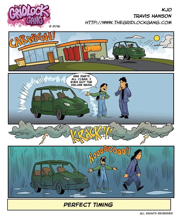 car wash mayhem