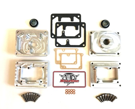 YAMAHA BANSHEE BILLET BOWLS FOR STOCK 26MM MIKUNI CARBURETORS