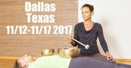 VSA Singing Bowl Vibrational Sound Therapy Certification Course Dallas, TX Nov. 12-17 2017