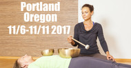 VSA Singing Bowl Vibrational Sound Therapy Certification Course Portland 11/6-11/11 2017