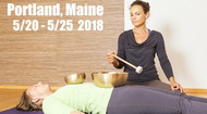 VSA Singing Bowl Vibrational Sound Therapy Certification Course Portland, ME May 12-17 2018