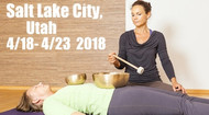 VSA Singing Bowl Vibrational Sound Therapy Certification Course Salt Lake City UT April 18 - 23, 2018