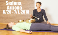VSA Singing Bowl Vibrational Sound Therapy Certification Course Sedona, AZ June 26 - July 1, 2018, 2018