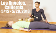 VSA Singing Bowl Vibrational Sound Therapy Certification Course Los Angeles, CA May 15 - 20, 2018