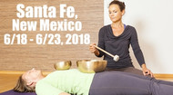 VSA Singing Bowl Vibrational Sound Therapy Certification Course Santa Fe, NM June 18 - June 23, 2018