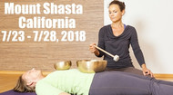 VSA Singing Bowl Vibrational Sound Therapy Certification Course Mount Shasta CA July 23 - July 28 2018
