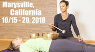 VSA Singing Bowl Vibrational Sound Therapy Certification Course Marysville CA Oct. 15-20 2018