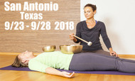 VSA Singing Bowl Vibrational Sound Therapy Certification Course  San Antonio TX September 23 - 28, 2018