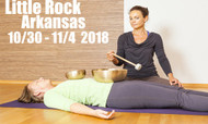 VSA Singing Bowl Vibrational Sound Therapy Certification Course  Little Rock AR Oct 30 - Nov 4, 2018