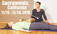 VSA Singing Bowl Vibrational Sound Therapy Certification Course Sacramento, Ca Nov 15-20, 2018