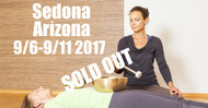 SOLD OUT!!! VSA Singing Bowl Vibrational Sound Therapy Certification Course Sedona, AZ September 6-11 2017