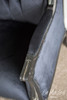 IN STOCK NOW: Wingback Palermo - Black and Silver