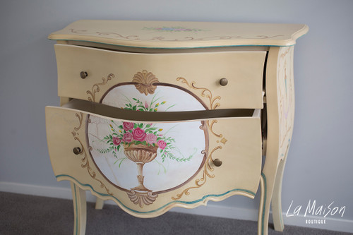 IN STOCK NOW: Hand painted drawers