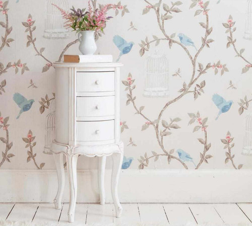 PRE ORDER: Three drawer side table