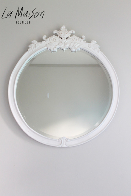PRE ORDER: French Classic round mirror