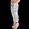 AE Stone Gray Yoga Leggings - Left