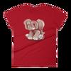 E'magine short sleeve t-shirt - Red