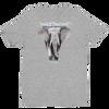 BuyArt/NotIvory-Short sleeve men's t-shirt - Heather Grey