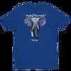 BuyArt/NotIvory-Short sleeve men's t-shirt - Royal Blue