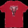 BuyArt/NotIvory-Short sleeve men's t-shirt - Red