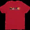 BA\NI short sleeve men's t-shirt - Red
